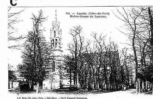 Ville de LANTIC Carte postale ancienne