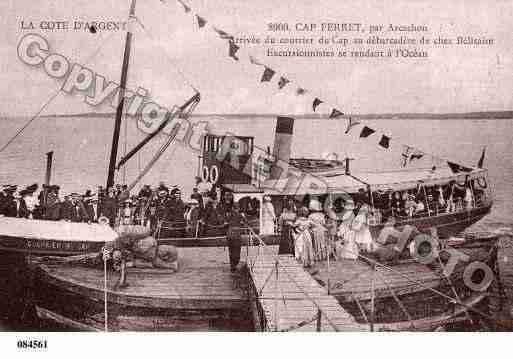Ville de LEGECAPFERRET Carte postale ancienne