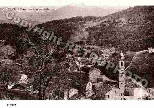 Ville de LEVIE Carte postale ancienne
