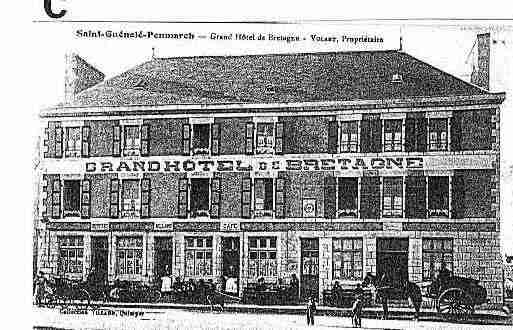 Ville de PENMARCH Carte postale ancienne