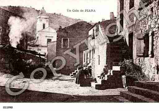 Ville de PIANA Carte postale ancienne