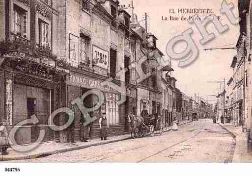 Ville de PIERREFITTESURSEINE Carte postale ancienne