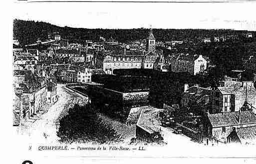 Ville de QUIMPERLE Carte postale ancienne