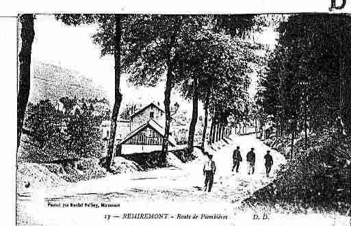 Carte postale ancienne de la ville de remiremont ph003908 for Piscine de remiremont
