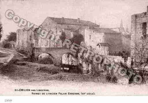 Ville de SAINTEMILION Carte postale ancienne