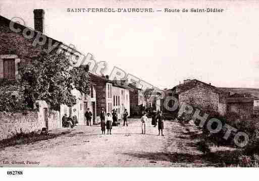 Ville de SAINTFERREOLD\'AUROURE Carte postale ancienne