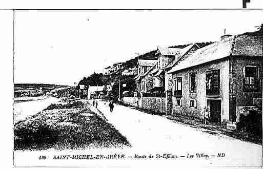 Ville de SAINTMICHELENGREVE Carte postale ancienne