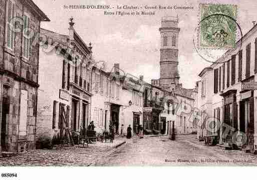 Ville de SAINTPIERRED\'OLERON Carte postale ancienne