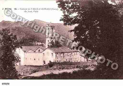 Ville de VALLED'ALESANI Carte postale ancienne