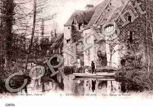 Ville de VICQUES Carte postale ancienne