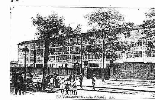 Carte postale ancienne de la ville de courbevoie ph066286 - Piscine municipale de courbevoie ...
