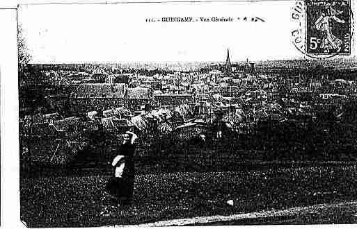 Ville de GUINGAMP Carte postale ancienne