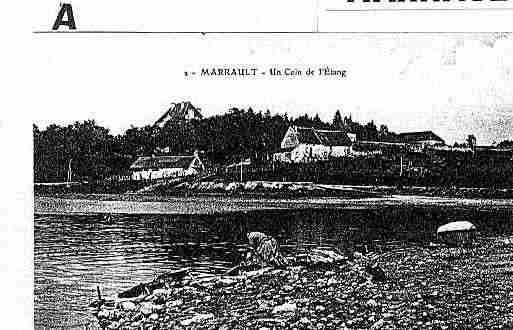 Ville de MARRAULT Carte postale ancienne