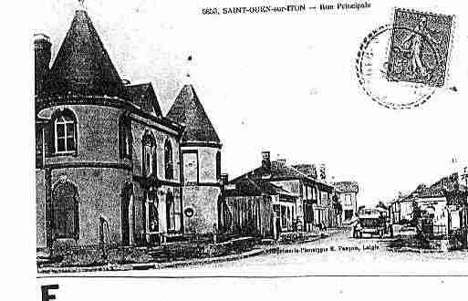 Ville de SAINTOUENSURITON Carte postale ancienne