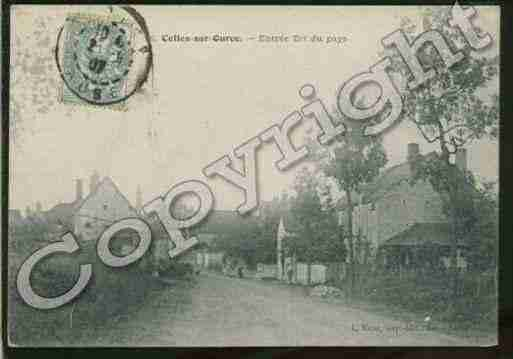 Ville de CELLESSUROURCE Carte postale ancienne