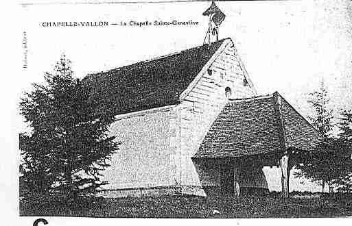 Ville de CHAPELLEVALLON Carte postale ancienne