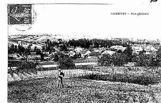Ville de CHERVEY Carte postale ancienne