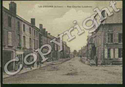 Ville de CHESNE(LE) Carte postale ancienne