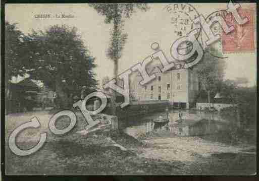 Ville de CHESSYLESPRES Carte postale ancienne
