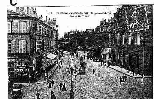 Ville de CLERMONTFERRAND Carte postale ancienne