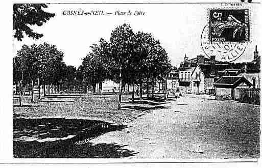 Ville de COSNED\'ALLIER Carte postale ancienne