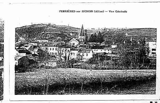 Ville de FERTEHAUTERIVE(LA) Carte postale ancienne