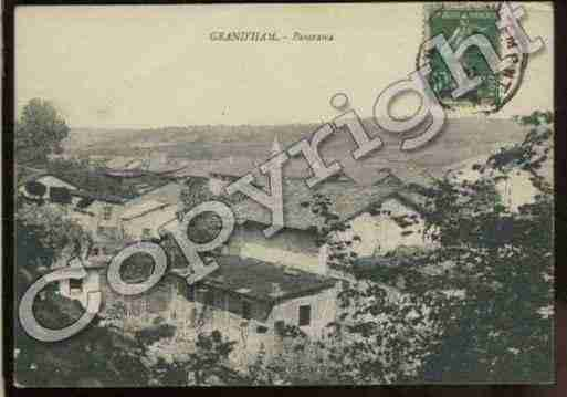Ville de GRAND\'HAM Carte postale ancienne