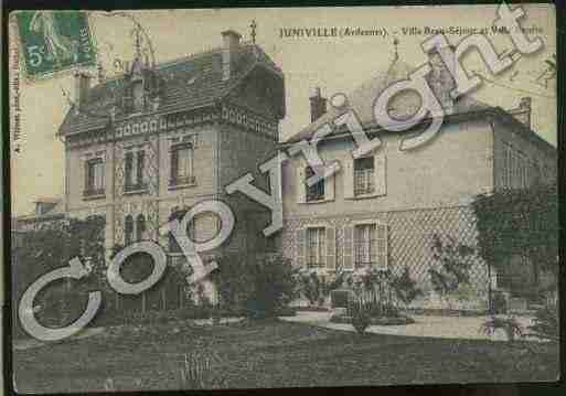 Ville de JUNIVILLE Carte postale ancienne