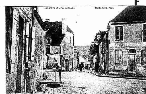 Ville de LANDREVILLE Carte postale ancienne