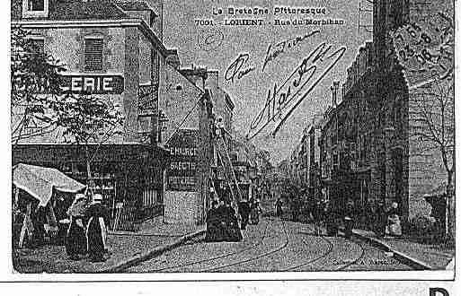 Carte postale ancienne de la ville de lorient ph011625 b sur cartes et patrim - Presse ancienne morbihan ...