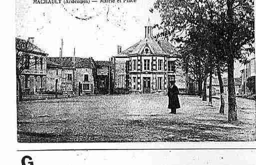 Ville de MACHAULT Carte postale ancienne