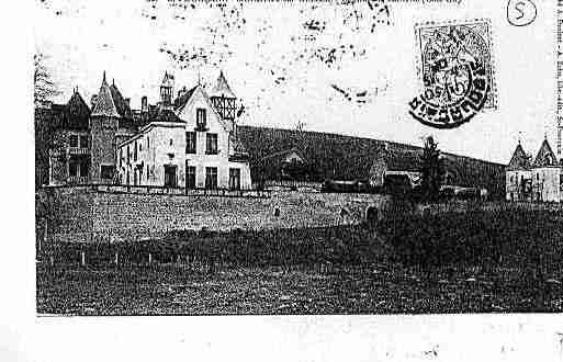 Ville de MONETAYSURALLIER Carte postale ancienne