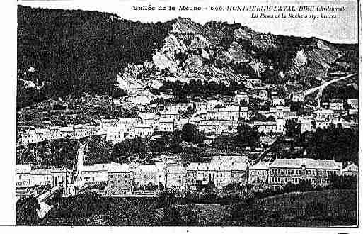 Ville de MONTHERME Carte postale ancienne