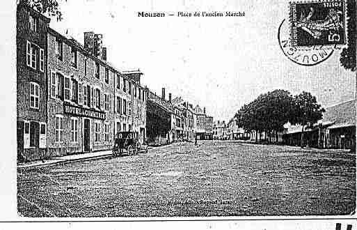 Ville de MOUZON Carte postale ancienne