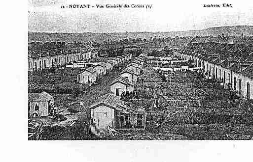 Ville de NOYANTD\'ALLIER Carte postale ancienne