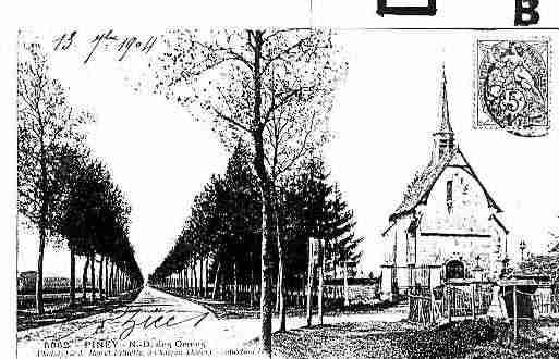 Ville de PINEY Carte postale ancienne