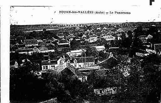Ville de POUANLESVALLEES Carte postale ancienne