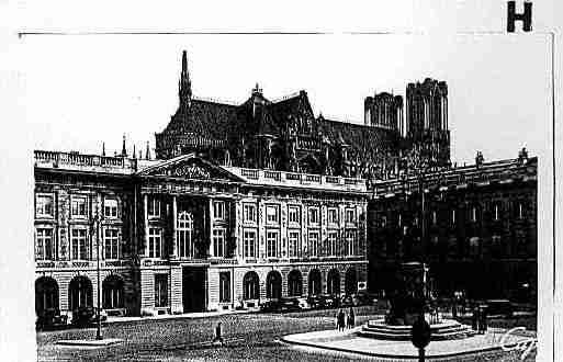 Ville de REIMS Carte postale ancienne