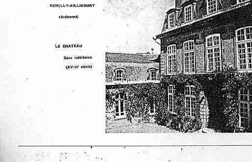 Ville de REMILLYAILLICOURT Carte postale ancienne