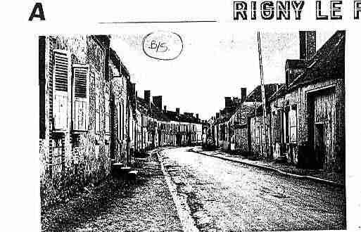 Ville de RIGNYLEFERRON Carte postale ancienne