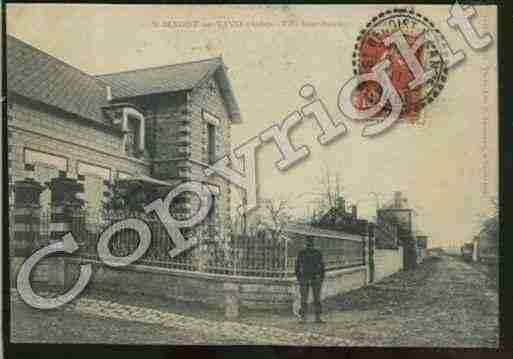 Ville de SAINTBENOITSURVANNE Carte postale ancienne