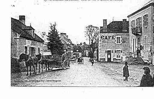 Ville de SAINTGERMAINDESFOSSES Carte postale ancienne