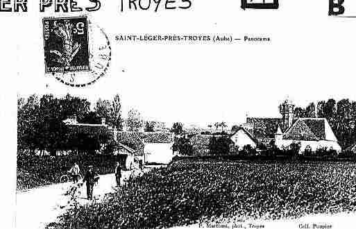 Ville de SAINTLEGERPRESTROYES Carte postale ancienne