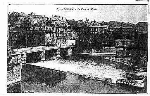 Ville de SEDAN Carte postale ancienne