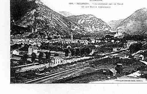 Ville de TARASCONSURARIEGE Carte postale ancienne