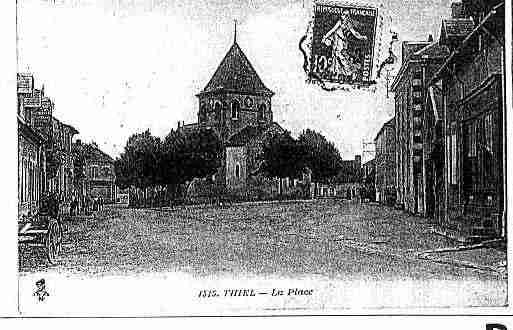 Ville de THIELSURACOLIN Carte postale ancienne