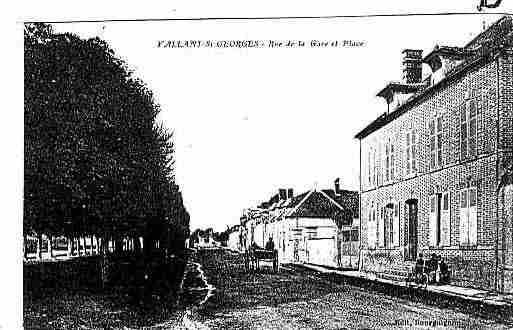 Ville de VALLANTSAINTGEORGES Carte postale ancienne