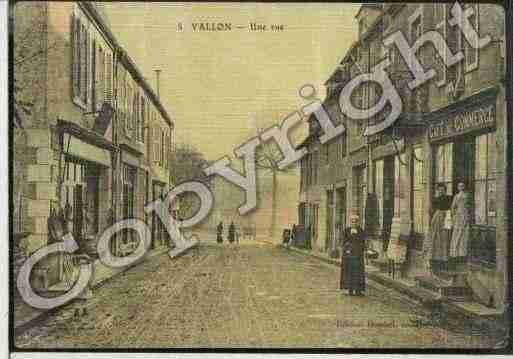 Ville de VALLONENSULLY Carte postale ancienne