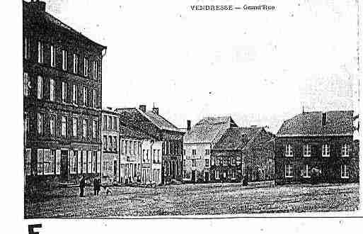 Ville de VENDRESSE Carte postale ancienne