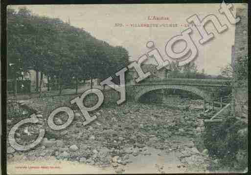 Ville de VILLENEUVED\'OLMES Carte postale ancienne